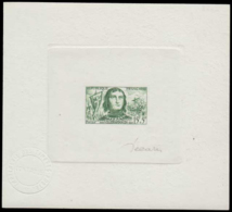 FRANCE Epreuves  1207 Epreuve D'artiste En Vert, Signée Decaris: Villehardouin. - Artist Proofs