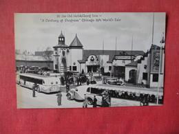 1933 Chicago Worlds Fair   Old Heidleberg Inn    Ref 3164 - Exhibitions