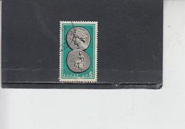 GRECIA  1963 .  Unificato  792 - Monete - Grecia