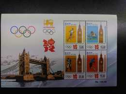 W) 2012 LONDON, GAMES OF THE OLYMPICS OF LONDON, PEOPLE, SPORTS MNH - Stamps