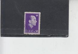 GRECIA  1964 .  Unificato 814 - Paolo I - Grecia