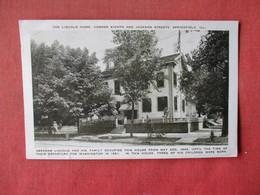 The Lincoln Home   Springfield – Illinois     Ref 3164 - Springfield – Illinois