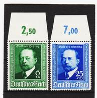 AUA1341 DEUTSCHES REICH 1940  MICHL 760/61  ** Postfrisch Siehe ABBILDUNG - Deutschland