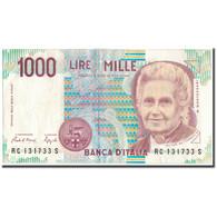 Billet, Italie, 1000 Lire, 1990, KM:114a, TTB+ - 1000 Lire
