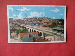 Kramer Art Co.      L & N.R.R. Bridge Cincinnati Ohio From Newport  Kentucky      Ref 3164 - Other