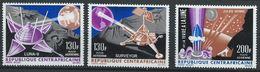 Centrafrique YT PA 39-41 XX / MNH Espace Space - República Centroafricana