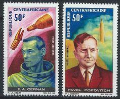 Centrafrique YT PA 43-44 XX / MNH Espace Space - República Centroafricana