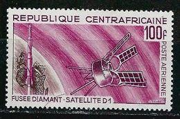 Centrafrique YT PA 45 XX / MNH Espace Space - República Centroafricana