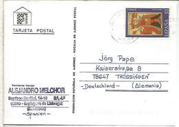 TARJETA AJEDREZ CHESS CARD SELLO NAIPE PLAYING CARD - Otros