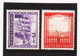 AUA1345 DEUTSCHES REICH 1941  MICHL 804/05  ** Postfrisch Siehe ABBILDUNG - Deutschland