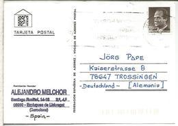 TARJETA AJEDREZ CHESS CARD ESPLUGUES - Schaken