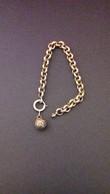Bracelet + Berlogue Anciene En Argent  - 6cm - Bracelets