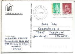 TARJETA AJEDREZ CHESS CARD - Schaken