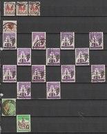 MiNr. 287 - 308  Südafrika 1961, 31. Mai/1963. Freimarken. - Südafrika (1961-...)