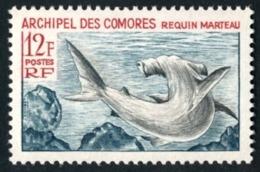 COMORES 1966 - Yv. 36 ** SUP - Poisson : Requin-marteau  ..Réf.AFA23141 - Neufs