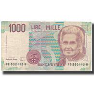 Billet, Italie, 1000 Lire, KM:114c, TB - [ 2] 1946-… : Républic