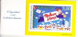 1 Carte Meilleurs Voeux L'année Du Facteur 1998 Michel Tardi Avec Petit Livret Voir Scan - Poste & Facteurs