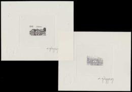 FRANCE Epreuves  2287 Epreuve D'artiste En Noir, Signée, (+négatif): Jarnac. - Epreuves D'artistes