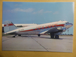 TUNIS AIR  DC 3   TS AXZ - 1946-....: Era Moderna