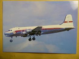 TUNIS AIR  DC 4  TS APM - 1946-....: Era Moderna