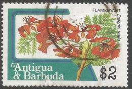 Antigua. 1983 Fruits And Flowers. $2 Used. SG 807a - Antigua And Barbuda (1981-...)
