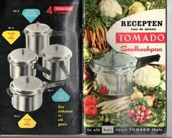 Recepten Tomado Vr Snelkookpan + Gebruiksaanwijzing - Sachbücher