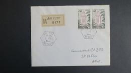 Algerie Lettre Recommandé De Ain Turk Tizi Ouzou  Mai 1962 Pour SP 86 520 A.F.N - Algérie (1924-1962)