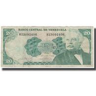 Billet, Venezuela, 20 Bolivares, 1989-09-07, KM:63b, TB - Venezuela
