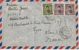 Lettre D'Egypte Pour La France - Ägypten