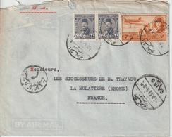 Lettre D'Egypte Pour La France - Égypte