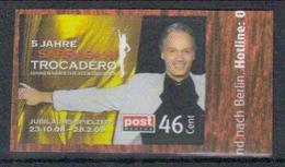 Deutschland PostModern '5 J. Sarrasani-Trocadero' / Germany '5th Ann. Of Sarrasani-Trocadero' **/MNH 2008 - Circo