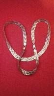 Chaine Melangé Avec Dorée En Argent- 20cm - Necklaces/Chains