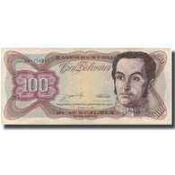 Billet, Venezuela, 100 Bolivares, 1989-03-16, KM:66b, TB+ - Venezuela