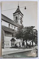 St. Johann Kirche, Schaffhausen, Schweiz Svizzera Suisse Switzerland, Real Photo Postcard - SH Schaffhausen