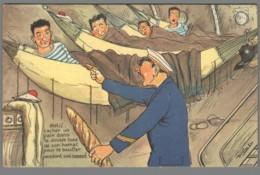 CPA Illustrateur - Le Marin à Bord - N°103 - Cacher Un Pain Dans Le Double Fond De Son Hamac - Other Illustrators