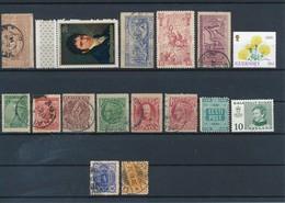 MONDE - LOT DE 16 TIMBRES NEUFS**/*/(*)/ SANS CHARNIERE/AVEC CHARNIERE/SANS GOMME/OBLITERES - Stamps