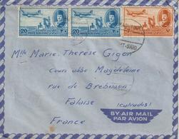 Lettre D'Egypte Pour La France - Cartas