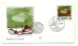 1981 - San Marino 1084 Giornata Dell'alimentazione - FDC - Alimentazione