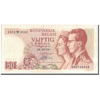 Billet, Belgique, 50 Francs, 1966-05-16, KM:139, B - 50 Francs