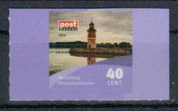 Deutschland PostModern 'Leuchtturm Moritzburg' / Germany 'Moritzburg Lighthouse' **/MNH 2014 - Leuchttürme
