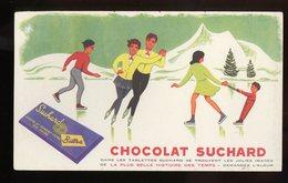 BUVARD:  CHOCOLAT SUCHARD - FORMAT  Env. 13X21,5 Cm - Chocolat