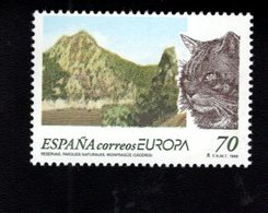 718480639 SPAIN 1999 SCOTT 2991  MONFRAGUE NATURE PARK  CAT EUROPA - 1931-Aujourd'hui: II. République - ....Juan Carlos I