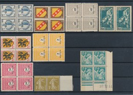 FRANCE - LOT DE 32 TIMBRES NEUFS**/* SANS ET AVEC CHARNIERE DONT 1 COIN DATE - COTE YT : 11€80 - 1932/46 - France