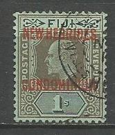 NUEVA HEBRIDES YVERT NUM. 26 USADO - Leyenda Inglesa