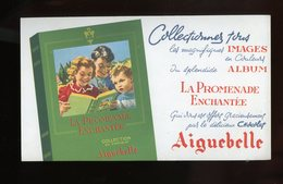 BUVARD:  CHOCOLAT AIGUEBELLE - FORMAT  Env. 12X20 Cm - Chocolat