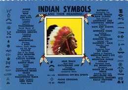INDIAN SYMBOLS Enf Theit Meanings RV - Indiens De L'Amerique Du Nord