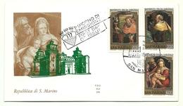 1981 - San Marino 1085/87 Natale - FDC - Natale