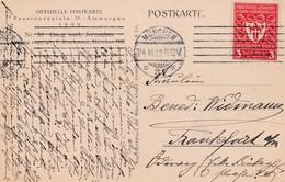 Karte Aus München 1922 Passionsspiele - Allemagne