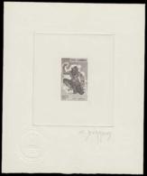 CAMBODGE Epreuves  23 Epreuve D'artiste En Brun, Signée: Singe Hanuman. - Cambodia