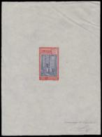 CAMEROUN Epreuves  116 Epreuve D'artiste En Rouge Et Violet, Signée: 35c. Caoutchouc. - Cameroun (1915-1959)